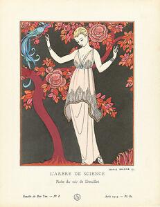 The Tree of Science La Gazette du Bon Ton 1914 Art Print