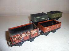 Trix(TTR) OO/HO - Job Lot -  4 pre-war goods vehicles - good/unboxed c1939