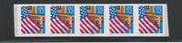 [68711] USA COIL STRIP OF 5 Scott #2915A 32¢ FLAG OVER PORCH - PLATE #99999 MNH
