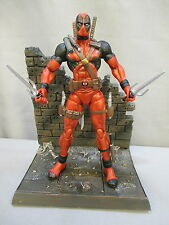"""Marvel Select """"DEADPOOL"""" 100% Complete 8 Inch Action Figure w/ Stand"""