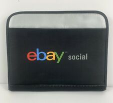 eBay Social Electronic Tablet Carrying Case Pockets Zipper Adjustable Straps