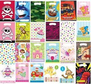 Party Bags 5-100 Fairy princess pirate farm sea pony zoo boy girl  **UK SELLER**