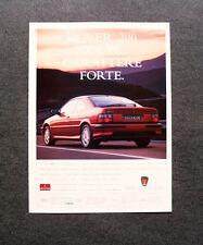 [GCG] L291- Advertising Pubblicità -1998- ROVER 200 COUPE' , CARATTERE FORTE