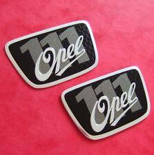 2X Opel 111 años Conmemorativa insignias Irmscher Astra H Corsa D VXR SRI 2 insignias