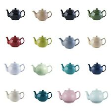 Teapot tea pot ceramic 6 cup retro traditional tea pot 22 assorted colours