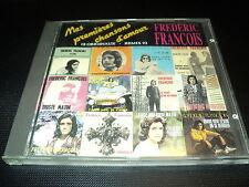 """RARE! CD """"FREDERIC FRANCOIS - MES PREMIERES CHANSONS D'AMOUR"""" remix"""