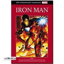 La marvel súper héroes colección 6 Iron Man Cómic Hachette rojo Panini nuevo