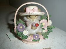 Charming Tails Sweet Smell of a Cure Promise of Cure Collection Cancer Figure
