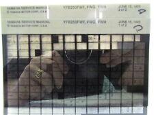 Yamaha YFB250 Timberwolf  YFB250FW 1994 - 1996 Service Manual Microfiche y279