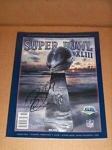Brett Keisel, Pgh Steelers, Signed Super Bowl XLIII Program, Decent