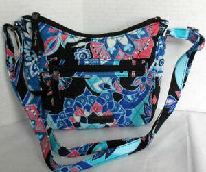 Vera Bradley Women Purse Shoulder Bag MINI ANDI CROSSBODY LOTUS FLOWER SWIRL