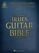 BLUES GUITAR BIBLE GUITAR RECORDED VERSIONS By Hal Leonard Corp **Excellent**