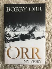 ORR My Story by Bobby Orr signed & Personalized To Mark 1st/1st 2013 HC/DJ Book