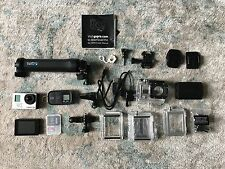 GoPro Hero 3 Black Edition w/ Incase Pro Pack, 3-Way mount, LCD screen and More!