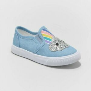Toddler Girls' Pearlie Twin Gore Slip-On Sneakers - Cat & Jack