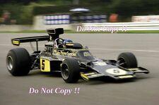 RONNIE PETERSON LOTUS JPS 72e ITALIANO Grand Prix 1975 fotografia 2