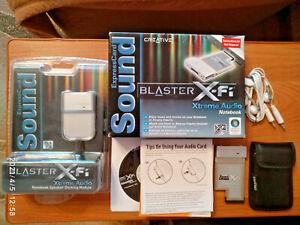 Creative X-Fi Xtreme Audio Notebook with Speaker Docking Module