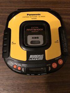 Panasonic Portable Cd Player Sl-sw405 Mash 1997 Tested Anti Shock XBS EUC