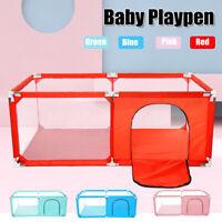 Baby Playpen Play Yard Kids Pen Infants Safety Fence Home Indoor Ocean Ball