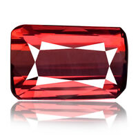 Flawless Rhodolite garnet 1.84ct red color 100% natural earth mined Africa