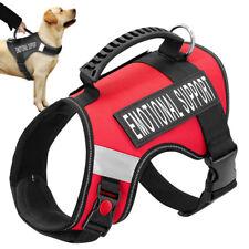 Emotional Support Dog Harness ESA Service Pet Dog Vest Reflective & 2 Patches