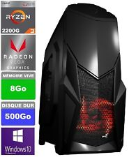 PC Gamer - AMD Ryzen 3 - 4x3.70GHz - HDD 500Go - Ram DDR4 8 Go - Windows 10