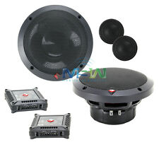 """ROCKFORD FOSGATE T1650-S POWER 6-1/2"""" 2-WAY CAR AUDIO COMPONENT SPEAKERS SYSTEM"""