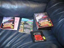 Lotus Turbo Challenge Sega Genesis Game