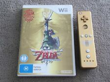 The Legend of Zelda: Skyward Sword Gold Remote Bundle (Nintendo Wii, 2011)