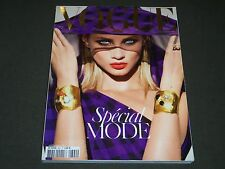2008 SEPTEMBER VOGUE PARIS MAGAZINE - ANNA SELEZNEVA - GREAT FASHION - O 5866
