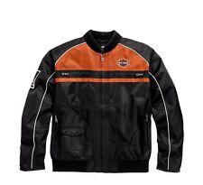 Harley-Davidson Men's Moto Ride Nylon Jacke Gr. XL - Herren, Schwarz Orange