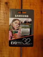 Samsung 32GB MicroSD (EVO Select 95MB/s) with Adapter!