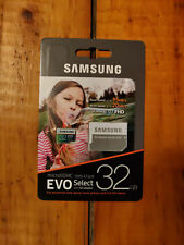 Samsung 32GB MicroSD Card (EVO Select 95MB/s) with Adapter!