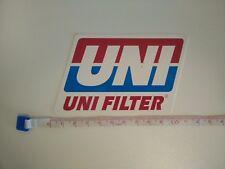 Genuine Classic UNI Filter Decal Sticker CR YZ KX RM DR MX YFZ TRX LTR Motocross