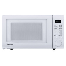 Magic Chef 1.1 cu. ft. Countertop Microwave in White-HMD1110W