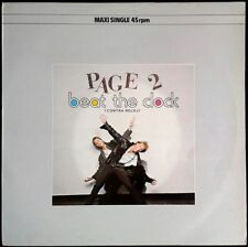 """PAGE 2 - Beat The Clock / Cocktail - SPAIN Maxi Single 12"""" Polydor 1984 - 45rpm"""