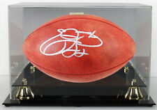 """Cowboys Emmitt Smith Authentic Signed NFL """"The Duke"""" Football w/ Case PSA/DNA"""