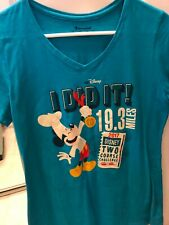 disney's wine and dine 2017 race shirt size small
