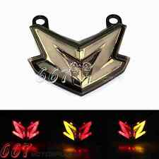 Euro LED Tail Light W/ Turn Signals For Kawasaki Z800 Ninja zx6r 636 2013-2014