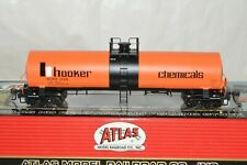 HO scale Atlas Hooker Chemicals 17,360 gallon tank car train