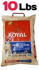 Royal Authentic Indian Basmati Rice - 10 Lbs - Premium Aged - Non GMO Verified