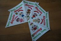 PERSONALISED LOL DOLL CHRISTMAS PARTY BUNTING /BANNER DECORATION