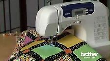Brother Sewing Machine Computerized Large Table Quilting Buttonhole Walking Foot