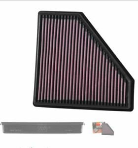 K&N Filters 33-5059 High Flow Air Filter Fits 2016-2019 Cadillac CTS