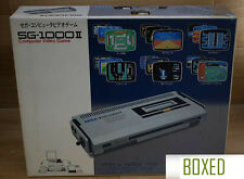 SEGA SG 1000 II Console System Boxed Tested Japan *WITH BONUS GAME*