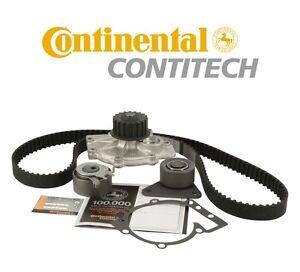 For Volvo C70 S40 S80 V40 V70 XC90 Timing Belt Kit w/ Water Pump Continental
