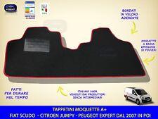 Tappetini Fiat Scudo 2007 in poi tappeti auto antiscivolo su misura tappeto per