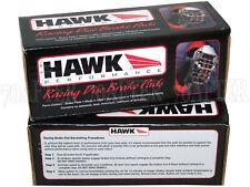 Hawk Race HP Plus Brake Pads (Front & Rear Set) for 01-05 BMW E46 325Ci 325xi