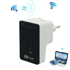 750Mbps Wireless Dual-Band WiFi Router Network Extender Repeater WPS Booster New