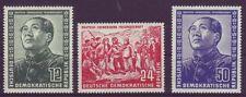 Postfrische Briefmarken der DDR (1949-1990) als Satz mit Geschichts-Motiv